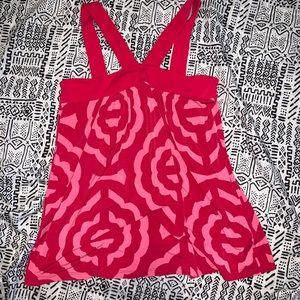 Michael Kors V-neck Strap Halter Knit Top